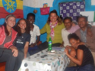 The party people: Ashley, Brihane (my counterpart), Imme, Aklilu and Betty
