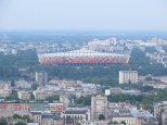 National Stadium seen from the top of the PKiN!
