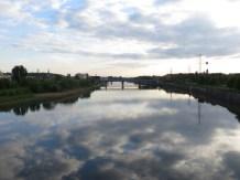 Marvellous sight of the Vistula river.