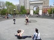 Sesión de fotos en Washington Square Park!