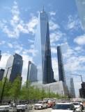 Impresionante el One World Trade Center, el edificio construido tras el colapso de las Torres Gemelas durante el 9/11