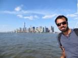 Ey dude, you know? This is New York! Qué vistas tan increíbles desde el mar...