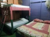 Tras unos días en el hostel nos subieron de rango, a la habitación privada numero 4