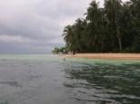 Cayo Zapatilla, también conocido como la Isla de Supervivientes, donde se rodó la primera edición del show televisivo
