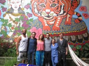 Foto de familia. Juny, Duvan, Mónica, Pacho, Esther y Casey! Gracias chicos por estas fantásticas semanas.