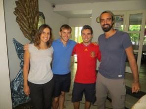 Con Ángel y Alberto, gracias por hacer lo imposible por conocernos en persona! Fue un placer ;)