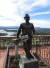 Luis Eduardo Villegas, el primer escalador del peñón de Guatapé (1954). Un verdadero visionario y enamorado de su tierra!