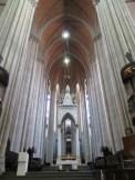 La catedral desde su interior.