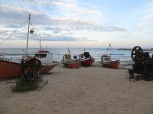 Las barcas de los pescadores. Me encanta!