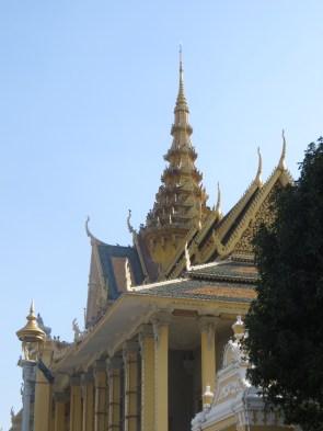 Detalle de la entrada al Palacio Real