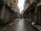 No todo son bazares y palacios bonitos, también te encuentras calles así en la ciudad antigua. Imaginaos la fiesta cuando llueve un poquito más... :/