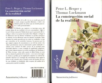 Un libro de sociología del conocimiento