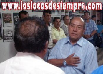 Samuel Astudillo dará explicaciones a los socios. Foto: LOSLOCOSDESIEMPRE.COM/Archivo