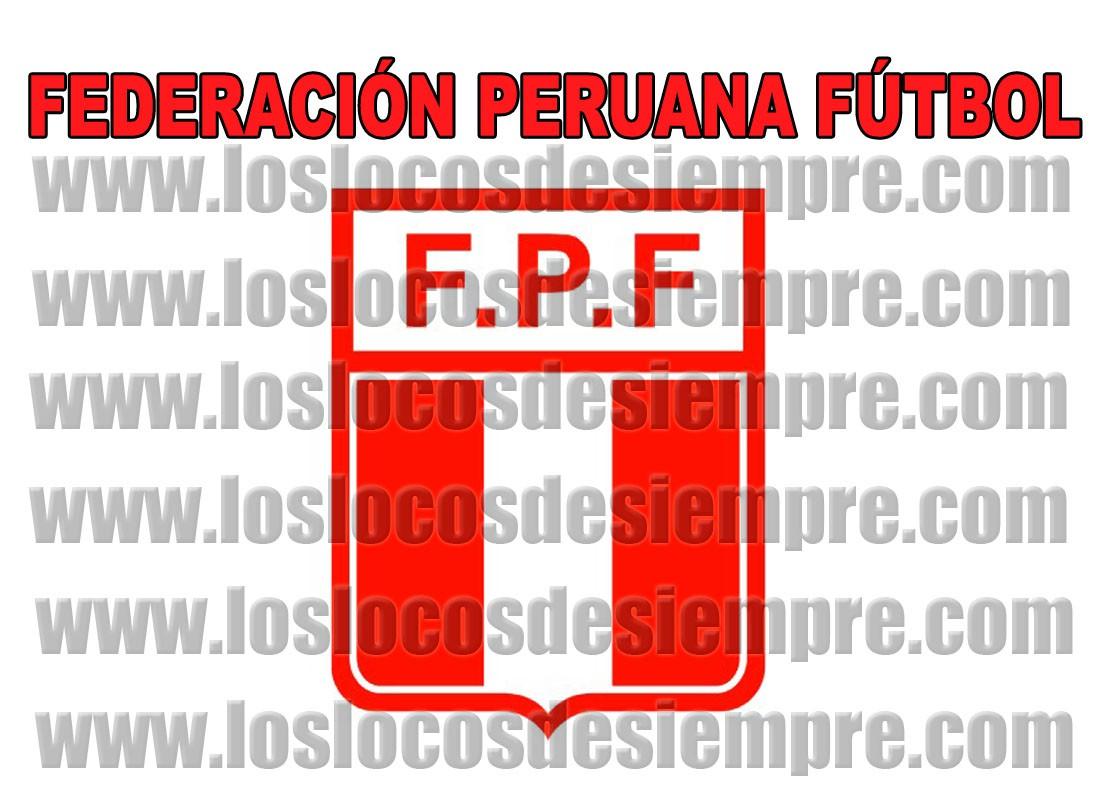 Federación Peruana de Fútbol. Elaboración: LOSLOCOSDESIEMPRE.COM