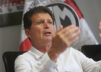 öscar Vega, presidente del Deportivo Municipal. Foto: Cortesía Agencia Andina
