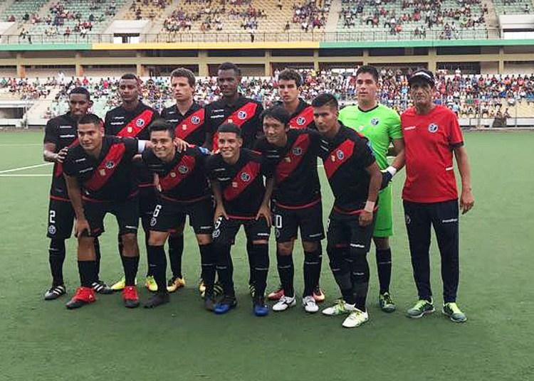 Deportivo Municipal en amistoso jugado en Pucallpa. Foto; Prensa Deportivo Municipal