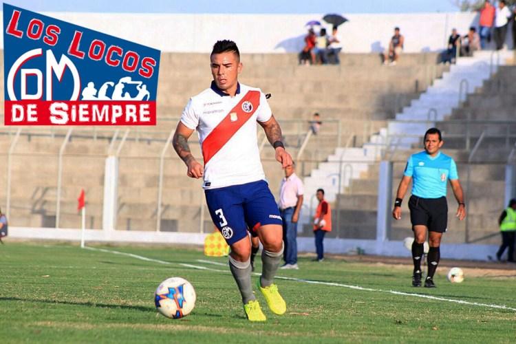 Joao Ortiz debutó con el Deportivo Municipal en el Torneo de Verano. Foto: LOSLOCOSDESIEMPRE