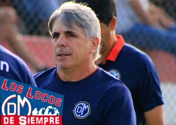 Triunfo inmerecido, de la U, afirmó Marcelo Grioni, entrenador de Deportivo Municipal. Foto: LOSLOCOSDESIEMPRE. Karito Núñez
