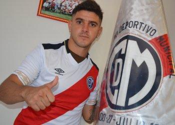 Jeremías Bogado ya es de la Franja. Foto: Prensa Deportivo Municipal