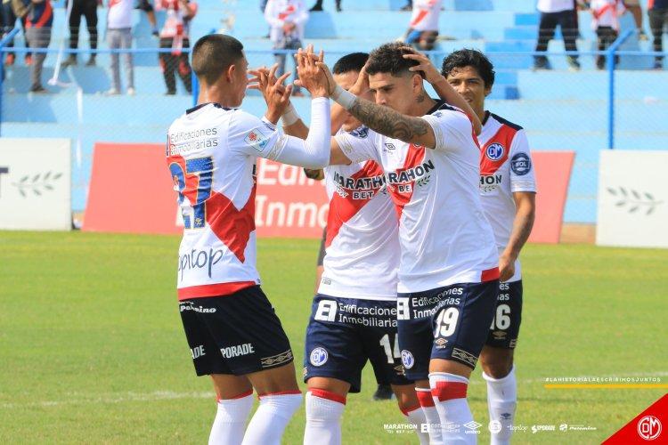 Gol de Juan Jeremías Bogado. Foto: Prensa Club Deportivo Municipal
