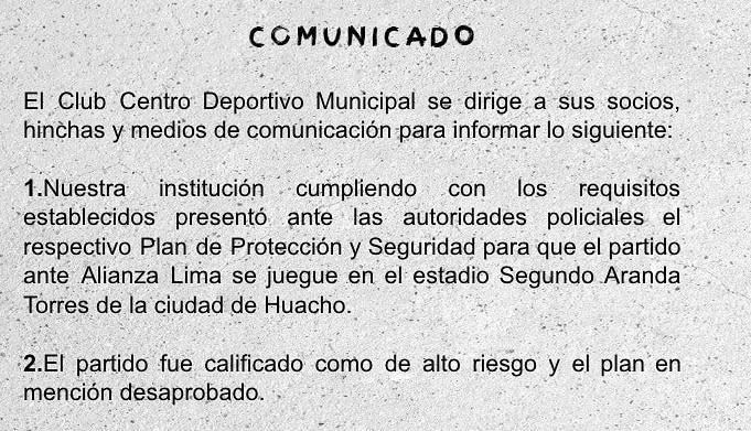 ¿Por qué el Muni vs Alianza se jugará en Trujillo?