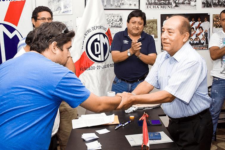 Samuel Astudillo es el nuevo presidente de Deportivo Municipal