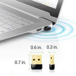 Adaptador USB TP Link TL-WN725N nano - dimensiones