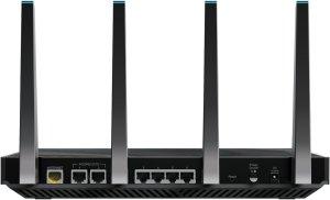 router wifi Netgear Nighthawk X8 - conexiones