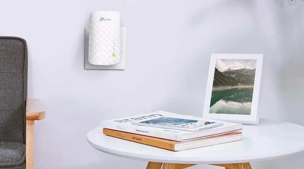 repetidor de red WiFi TP-Link RE200 AC750