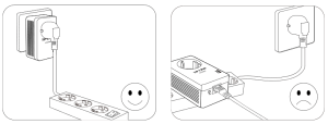 Conectar el kit PLC TP-Link TL-PA4010P