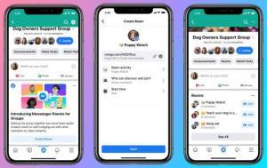 Cómo funciona Messenger Rooms