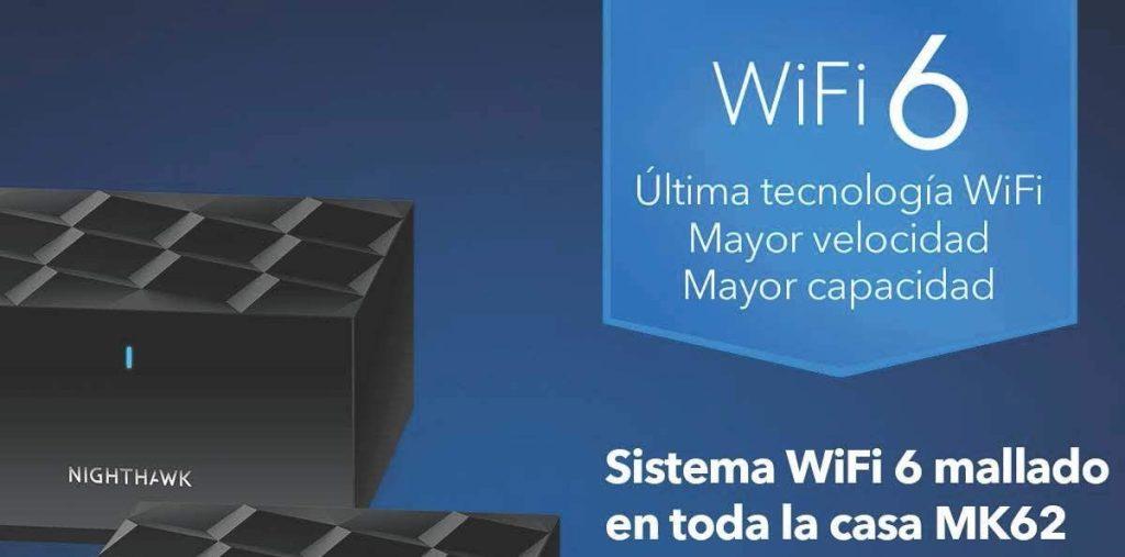 Sistema WiFi 6 de malla Netgear Nighthawk MK63 - cabecera