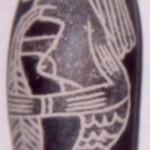 Las piedras de Ica, Perú, también nos muestras estos Seres Pez Hombres.