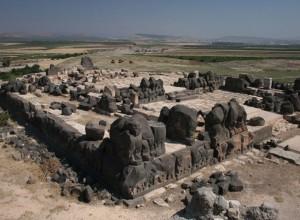 Vista de los restos arqueológicos del Templo Ain Dara.