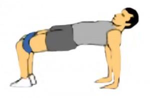 Posición  Yoga.