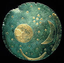 El Disco de Nebra, Alemania, refleja la Constelación de las Pléyades.