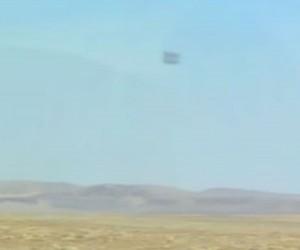 Ovni de Nevada EE.UU en Julio de 2014 con forma semejante al registrado por Antonio Rojas.
