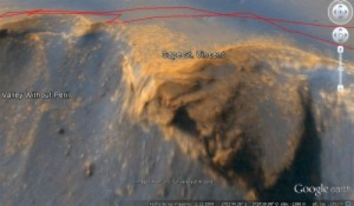 Cabo San Vicente en Marte.