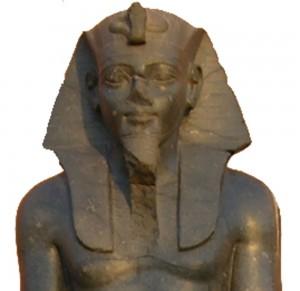 Faraón Merneptah, hijo del Faraón Ramsés el Grande.