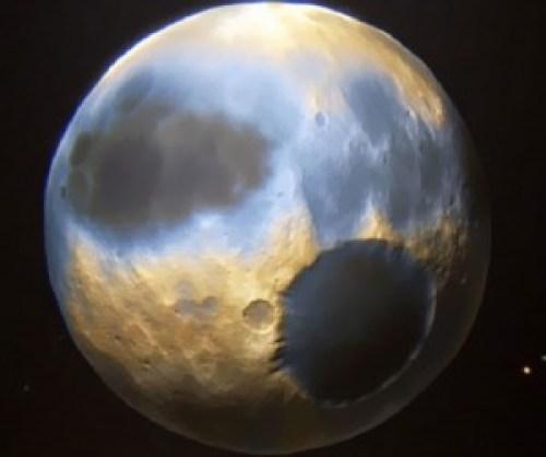 Plutón según la NASA.