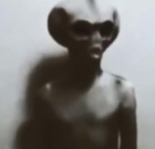 Supuesto Extraterrestres filmado en 1947 por EE.UU.