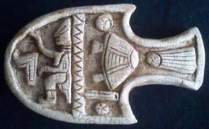 Pieza periodo Maya