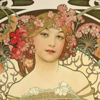Alphonse Mucha, sueños y ojos de mujeres