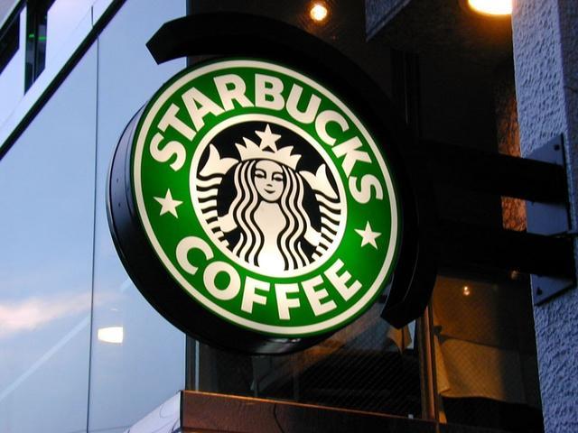 Un logo di Starbucks