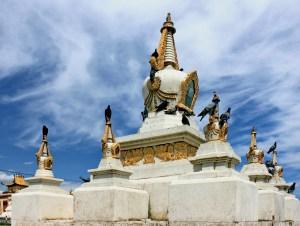 Il Monastero di Gandantegchinlen Khiid in Mongolia