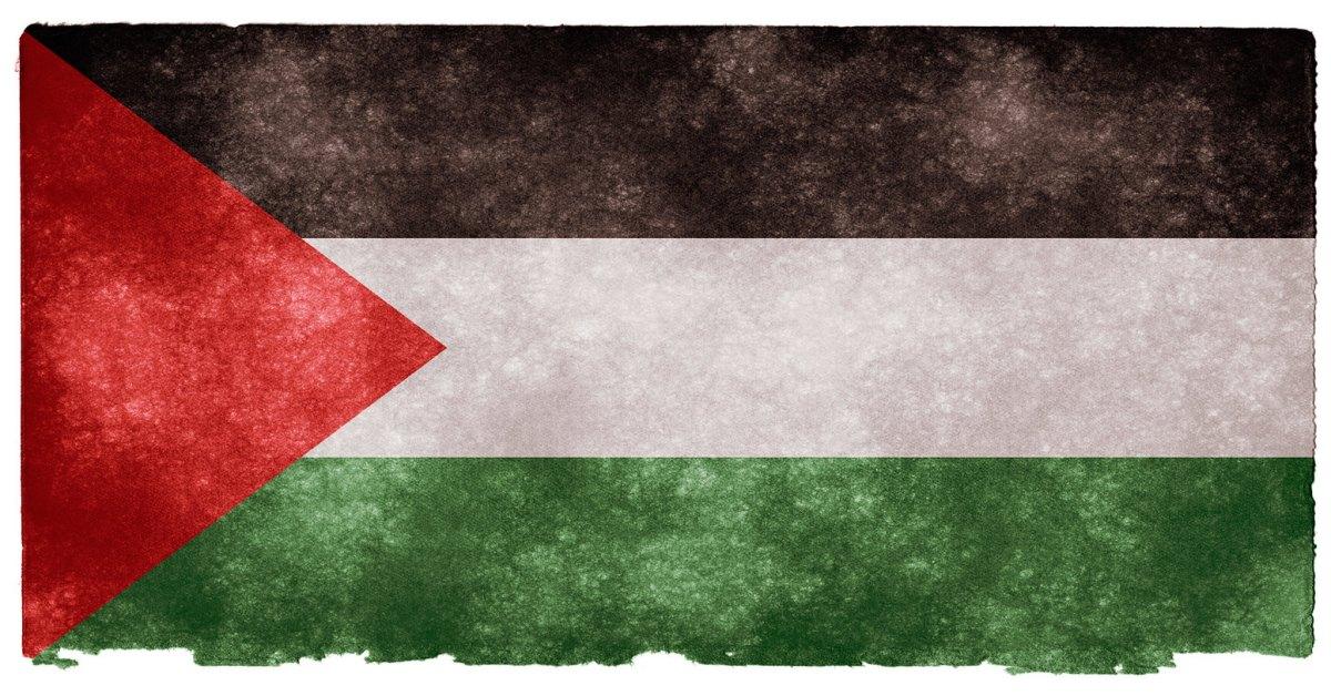 Una bandiera della Palestina