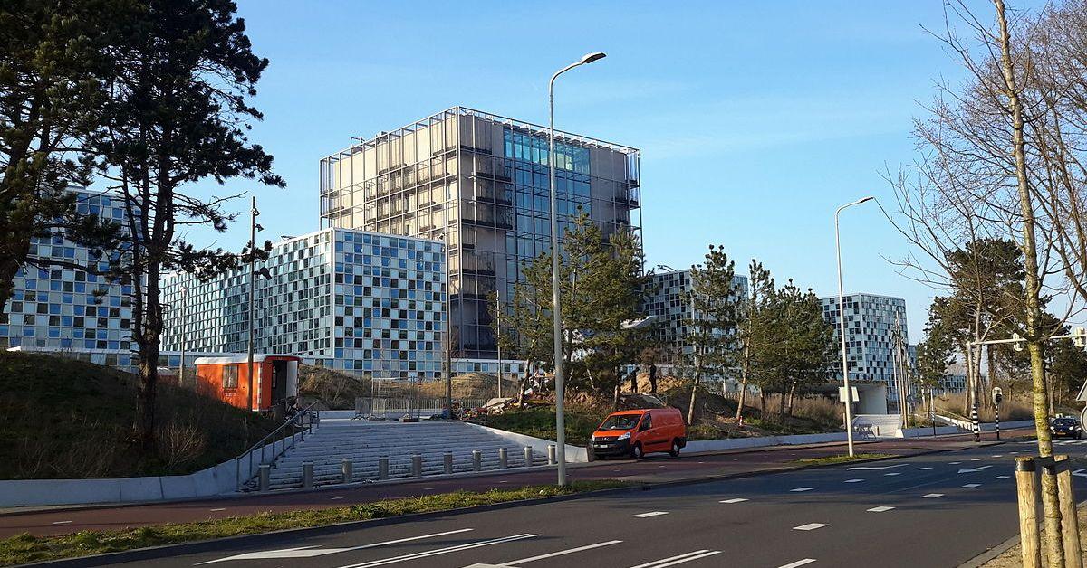 Una foto della Corte penale internazionale, competente in materia di crimini contro l'umanità