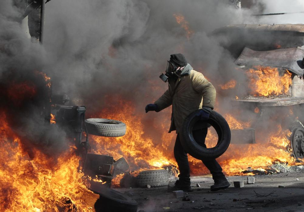 Ucraina, scontri a kiev