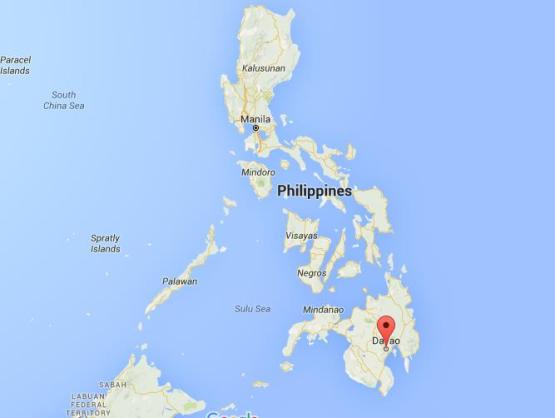 where-is-davao-city-on-map-philippines