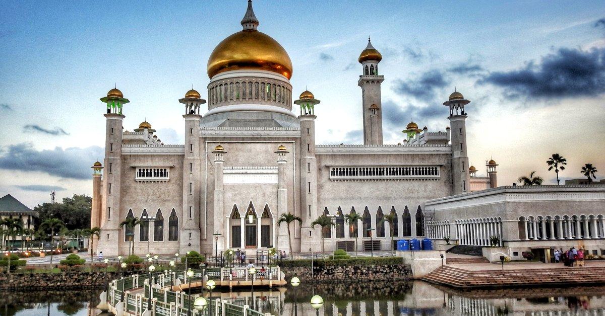 Un castello nel Brunei